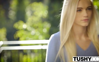TUSHY First Anal For Lovely Fair-haired Alex Superannuated