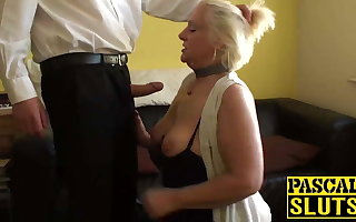Naughty granny Carol is tenuous some really dirty fucking