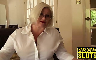 Lacey Starr gets her granny nuisance fucked
