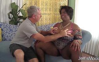 Marlise Morgan, Get under one's Black BBW Hawkshaw Sucker