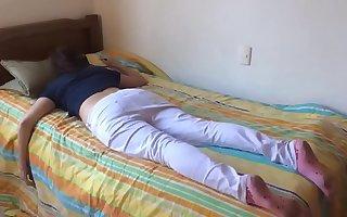 Teen angel of mercy fucked while sleeping