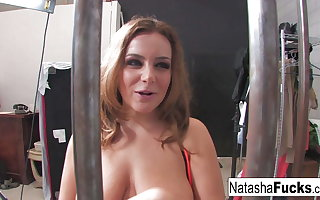 The man Natasha Nice Shows Off Her Amazing Curves