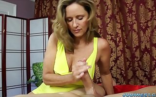 Jodi West: Long Slow Handjob
