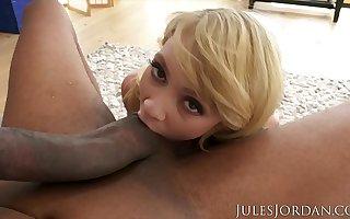 Jules Jordan - Micro Belly Dancer Athena Rayne Charms Dredd's Snake