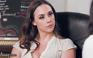 GIRLSWAY, An Office Ladies Fight Gets Chanel Preston Tied Up