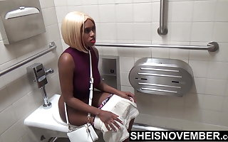 Ebony Student Msnovember Pissing At College After Exam