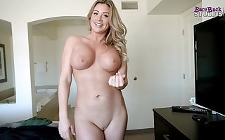Sharing a Bed with My Busty Step Mom While on Succeed to - Coco Vandi