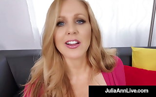 Dick Scrawny Milf Julia Ann Mouth Fucks A Lucky Cock!
