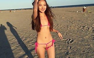 Chloe In A Super Tiny Bikini!