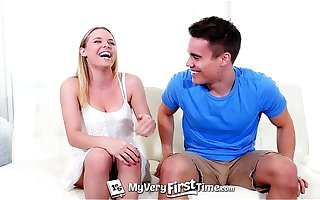 MyVeryFirstTime - Aubrey Sinclair fucks say no to step-brother for the prankish seniority