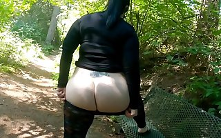 Sheer Leggings Individual Walk With respect to Fat Booty Flashing