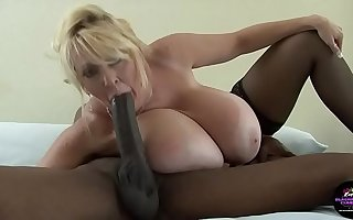 Kayla Kleevage Big Mamma Interracial Anal Cream Pie pt 1