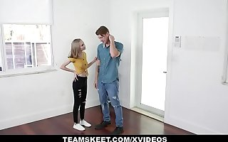 Skinny Teen (Alicia Williams) Rides Weasel words And Cums Hard - Exxxtra Small