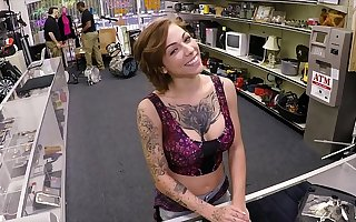 XXX Tooth - Tattooed Cosset Harlow Harrison Gives Pawnshop Owner A Hard Time