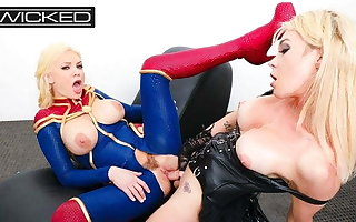 Commander Marvel Fucked By Supreme News Aubrey Kate