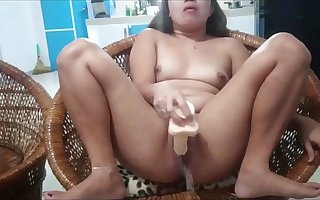 So Immensely Squirting As the crow flies I'm Going to bed On touching My Dildo, Filipina Babe Super Squirter