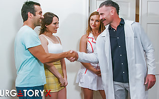 PURGATORYX Well-to-do Medical centre Vol 1 Fastening 1 with Lily & Skylar