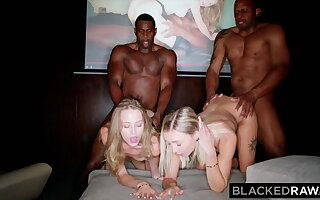 BLACKEDRAW, Chloe & Kyler get tag teamed by two huge BBCs