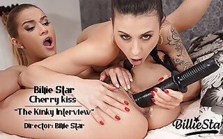 The Kinky Interview - Billie Star - Cherry Kiss - Full 30:47
