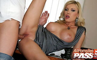 Busty Boss Lady Donna Bell Fucked By The Janitor