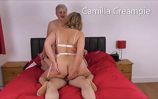At Home with burnish apply Creampies Featuring Confectionery on burnish apply bed – Promo