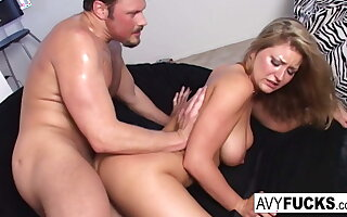 Avy Scott gives you a hot and unending distress scene with Van