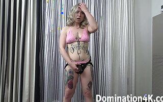 Strap-on training with Mistress Kaiia Eve