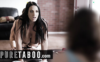 Busty Angela White Leads Jay Taylor During Corrupt DP Orgy