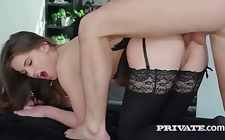 Evelina Darling, soft on lingerie plus and anal coitus