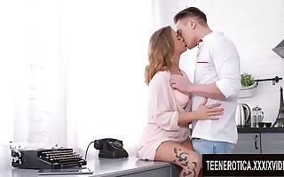 Hot Stuff Jenny Manson and Her Boyfriend Shot at Sex far the Kitchenette