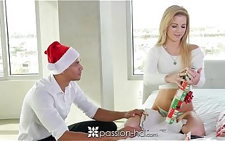 Passion-HD - Bella fucks the brush secret Santa for Xmas