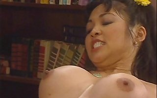 Sexy Schoolgirls Hannah Harper and Mika Tan Share Teacher's Big Cock FFM