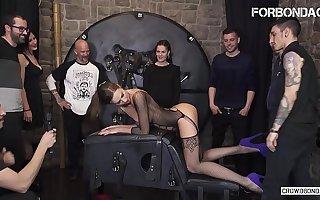 FORBONDAGE - Xtreme BDSM Fetish Fuck Be useful to Obese Tits Brunette MILF Tina Kay
