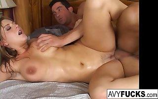 Dominate Avy Scott gets her pussy fucked hard