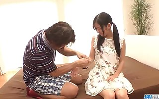 Suzu Ichinose musing sex with an older alms-man - With at 69avs com