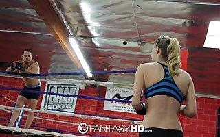 HD FantasyHD - Natalia Starr wrestles her way into fuck boxing-match