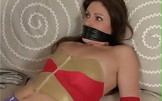 Rival Superheroines in Bondage - Celeste Star & Samantha Ryan
