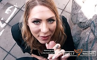 GERMAN Mia BLOW goes on Blind Date to get FUCKED! ▁▃▅▆ WOLF WAGNER Honour ▆▅▃▁ wolfwagner.love