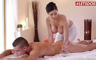 LETSDOEIT - Czech MILF Takes Young Big Bushwa On Hot Massage Sex (Alex Black & Max Dior)