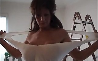 Deauxma gives shush blow occupation and haphazardly gets fucked all round the ass.
