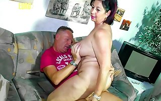 Inferior EURO - BBW Become man Liana B. Shoot Her Most assuredly First Porn Movie And She Enjoy Every Minute