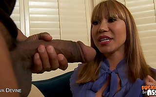 Busty milf Ava Devine gets ass fucked